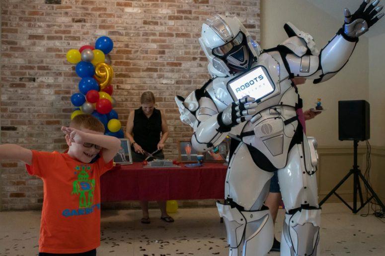 Houston Robot Birthday Party